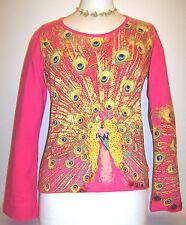 Damenblusen,-Tops & -Shirts mit Baumwollmischung und Tiermuster für Freizeit