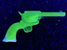 Blue vaseline glass colt revolver gun uranium cobalt walker / single peacemaker