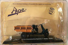 """DIE CAST  """" A 125 CASSONCINO APERTO 1° SERIE - 1948 """" APE COLLECTION SCALA 1/32"""