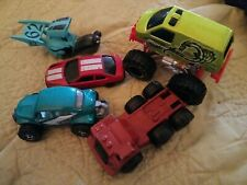 Assorted Diecast Plastic Cars Trucks