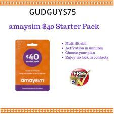 amaysim $40.00 starter pack