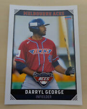 Darryl George 2018 Australian Baseball League - Melbourne Aces - Orix Buffaloes