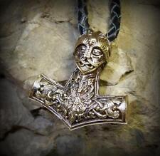 THOR'S HAMMER Norse MJOLLNIR MJOLNIR Mjölnir VIKING Amulet Pendant Necklace