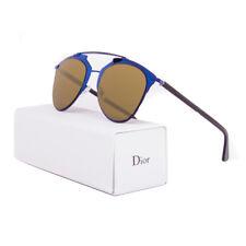 Christian Dior Reflected Sunglasses M2XA6 Blue Black Frame / Brown Lens