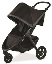 Britax B-Free One Hand Fold All Terrain Wheel Single Baby Stroller  Pewter New