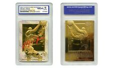 1996-97 MICHAEL JORDAN SKYBOX EX-2000 CREDENTIALS GOLD CARD GM10 PRISM REFRACTOR