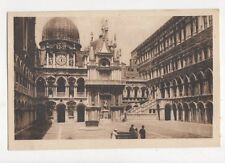 Venezia Interno Palazzo Ducale Vintage Postcard Italy 560a