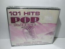 101 Pop Classics ALBUM 4 CD BOX NEW NUOVO SIGILLATO SEALED CD 8712155105210