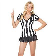 Leg Avenue Costume Game Official 83067 Black/White Medium/Large