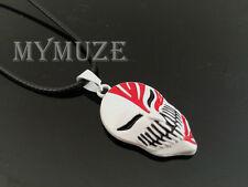 Bleach Ichigo Kurosaki Bankai Hollow Mask Pendant Necklace Cosplay Anime