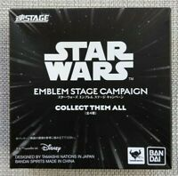 NEW  2 x Star Wars Emblem Stage Campaign - Collect Them All S H Figuarts Bandai