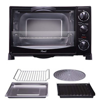 Convection Toaster Oven 6 Slice Counter-Top Electric Home Family-Size Pizza Cook