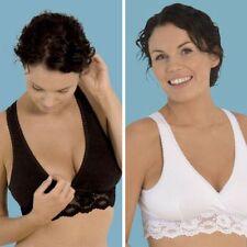 Reggiseni e completi intimi da donna neri in cotone