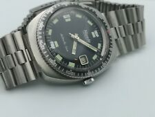 Vintage Watch Diver Nivada Antarctic Automatic Swiss Stainless Steel