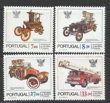 Portugal 1981 - Fireman Cars set MNH