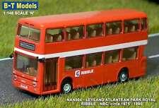 B-T modelli NAN004 LEYLAND atlantideo Park Royal Ribble NBC 'N' = SCALA 1/148th T48