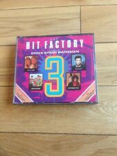 THE HIT FACTORY 3 - BEST OF STOCK AITKEN WATERMAN - FAT BOX DOUBLE CD 1989 PWL