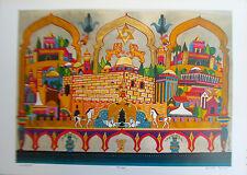 Christian Messianic Artwork- Jerusalem I -The City of the Second Coming-Ltd Ed