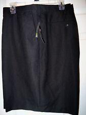 Chaps Black Flat Front Big & Tall Shorts Mens Size Waist 48 NWT