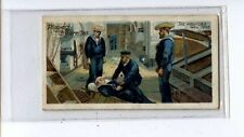 (Ju443-100)Players,Life On Board Man Of War,The Wounded Man 1905, 1905#