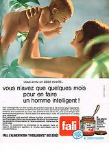 PUBLICITE  1970   FALI  aliments bébé