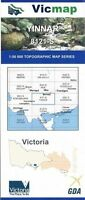 YINNAR 8121-S   -  Vicmap 1:50,000  Topographical Map new, priority  freepost