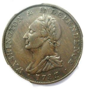 1783 George Washington Colonial Copper Draped Bust Coin - Certified PCGS XF40