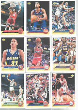 1992-93 Upper Deck McDonalds Basketball Cards Lot of 13 Vintage