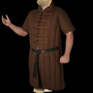 Gambeson padded armor Brown