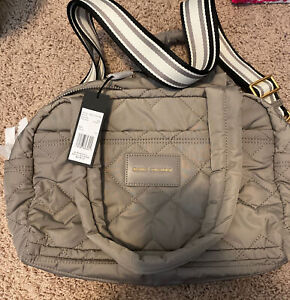 NEW Marc jacobs the weekender small bag Cement AUTHENTIC