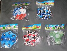 SUPER Lot of 5 Fidget Spinners for Stress Autism - NEW STYLES - FREE SHIPPING