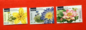 MUH Australian Water Plants 2017 International Post Stamps