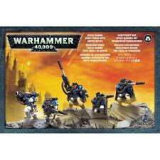 Warhammer 40,000: Space Marine Scout Squad with Sniper Rifles GW 48-29 NIB