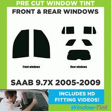 Pre Cut Window Tint - SAAB 9.7X 2005-2009 - Full Kit