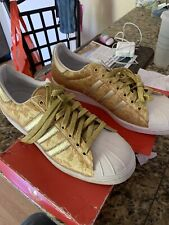 Adidas Superstar CNY Year Of The Horse Gold Size 10