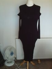 ladies knitted midi dress from River Island size 18 in great condition