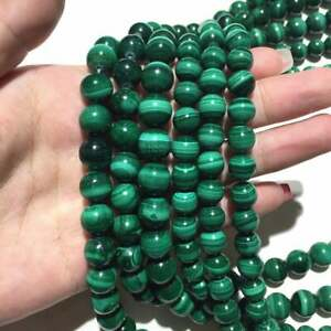 Natural Malachite Beads Energy Gemstone Loose Beads DIY Jewelry Making Bracelet