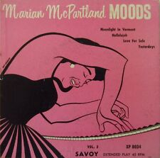 1953 Marian McPartland Moods 'Moonlight In Vermont/Love For Sale' EP 45 RPM NM