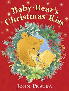 Baby Bear's Christmas Kiss Childrens Book Kids Xmas Stocking Filler Gift