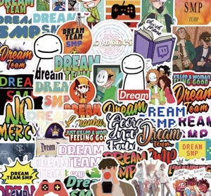 Dream SMP Stickers Lucky Dip - 5 Pack No Repeats