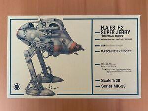 Wave 1/20 Maschinen Krieger H.A.F.S. F.2 Super Jerry