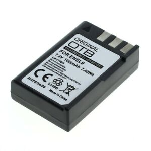 Original OTB Battery EN-EL9 For Nikon D40/D40x/D60/ D3000/D5000