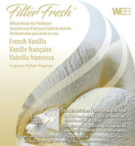Filter Fresh Whole Home French Vanilla Air Freshener AC Furnace Pad House Scent