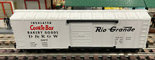 S-GAUGE K-LINE RIO  GRANDE COOKIE BOX CAR.