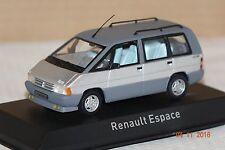 Renault Espace 1984 silber 1:43 Norev neu & OVP 518013