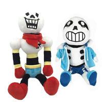 Undertale Sans Papyrus Soft Stuffed Doll Plush Toy 2PCS Xmas Gift Action Figure