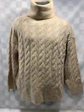 H&m Punto Suéter de Cuello Alto Mujer TALLA S