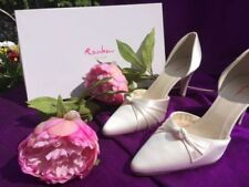 Rainbow Club Mid Heel (1.5-3 in.) Satin Bridal Shoes