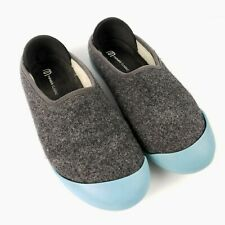 Mahabis Classic Slippers Flat Shoes US 7.5 EU 38 Convertible Indoor Outdoor Gray