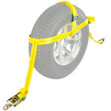 Tie Down Ratchet Strap Auto Hauler Trailer Wheel Ratchet Straps
